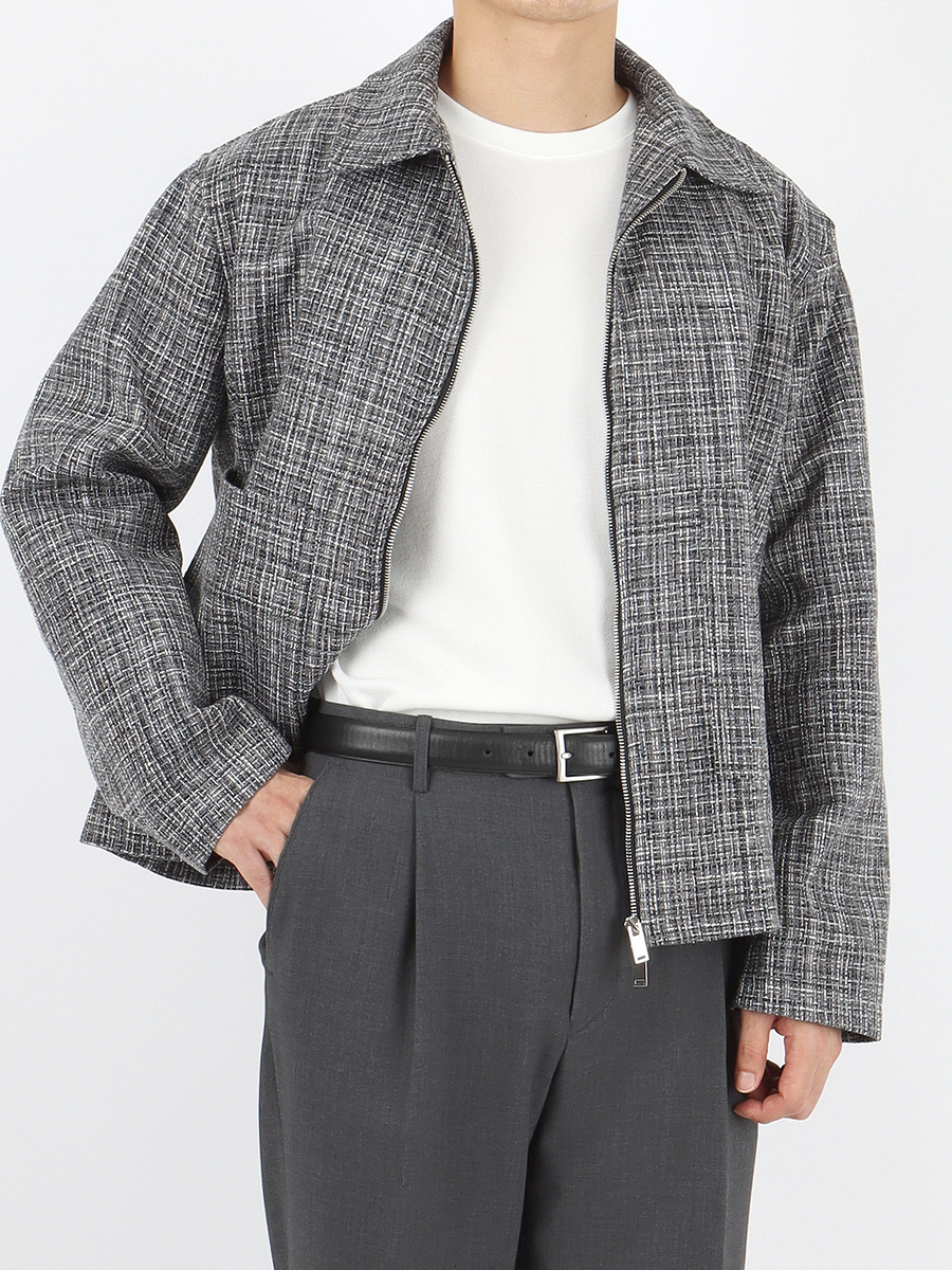 2way tweed jacket